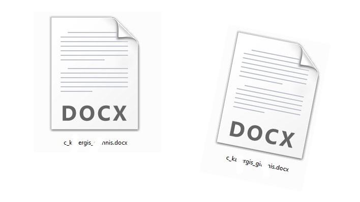 Δεν εμφανίζονται σωστά τα εικονίδια του Office 2007/2010